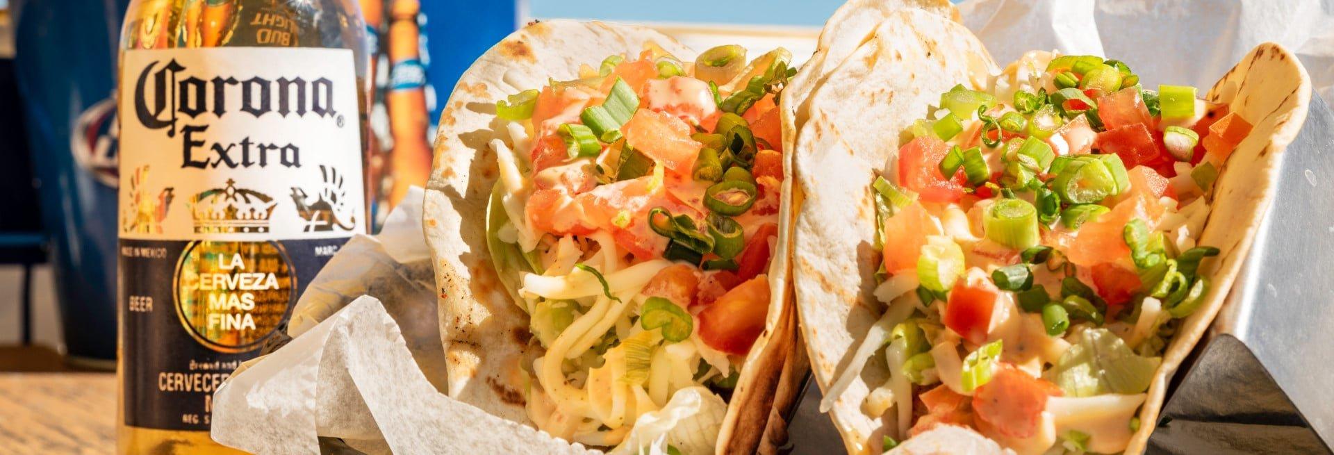 Seafood Tacos at Lynn's