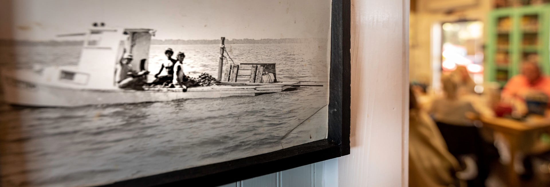 Picture on the wall of Lynn's - Boys in a Boat